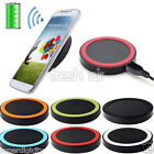 Universal QI Wireless Power Charger Charging Pad + USB Cable For iPhone Samsung