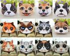 1pcs Animal Cute Cat Dog Face Zipper Case Coin Women Purse Wallet Bag Pouch