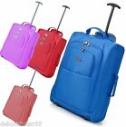 Small Lightweight Cabin Bag Wheeled Hand Luggage Weekend Holdall 50x35.5x20cm