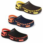Mens Coolers Clogs Hospital Garden Nurses Catering Beach Slip On Mule Sandals