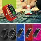New Fashion Men Women Silicone LED Sport Bracelet Touch Digital Wrist Watches