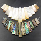 6x11-6x28mm Shell Pendant 13Beads For DIY Necklace