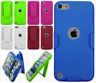 For iPod Touch 6 6th Gen COMBO Belt Clip Holster Case Cover Kick Stand Accessory