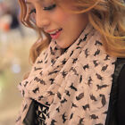 Fashion New Lady Women's Long Soft Wrap Lady Shawl Silk Chiffon Scarf