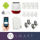 Smart Alarm System IP Burglar Security Intruder House Home Wireless WiFi Kit