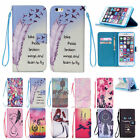 Magnetic Leather Wallet Case Flip Stand Cover Hand Wrist Strap Credit Card Slots