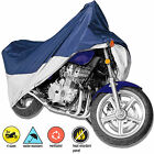 Waterproof Deluxe Motorcycle Cover Rain Protection Breathable Vented 4 Size