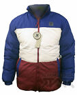 New Mens Padded Jacket Coat Quilted Outdoor Funnel Neck Zip Lined Casual Winter