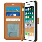 Luxury Leather Magnetic Wallet Case Cover For iPhone X 8 7 6s Plus XS Max XR <br/> US Seller. Premium Phone Case. Fast Free Shipping