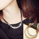 New Fashion Luxury Crystal Rhinestone Popular Bib Choker Necklace Jewelry Gift