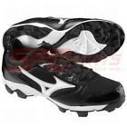 New Mizuno 9-Spike Finch 4 Women's Adult Low Baseball Cleat 320394 Black