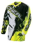 Oneal Adult 2016 MX ATV Motocross Shocker Black/Hi-Viz Jersey S-2XL