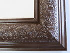 """1.8"""" Wide Swirl Espresso Solid Wood Picture Frame-Custom Made Standard Size"""