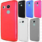 For LG Nexus 5X Frosted TPU CANDY Gel Flexi Skin Case Cover Accessory