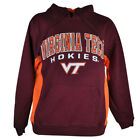 NCAA Virginia Tech Hokies Sweater Hoodie Colosseum Football Mens Adult Winter