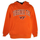 NCAA Virginia Tech Hokies Sweater Hoodie Orange Mens Adult Colosseum Winter