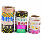 Lychee Japanese Washi Tape Scrapbooking DIY Paper Masking Sticky Decor Metallic