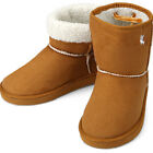 New Trend Brown Womens Short Winter Snow Warm Boots