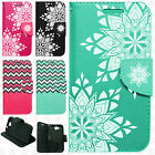 For HTC One A9 Premium Leather Wallet Case Pouch Flip Phone Cover Accessory