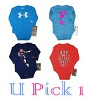 UNDER ARMOUR BODYSUIT SHIRT BOYS GIRLS SPORTS ATHLETIC LONG SLEEVES TOP TEE T
