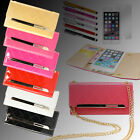 Luxury Leather Card Slots Wallet Stand Case Cover for Apple iPhone 6 / 6S 4.7