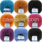 Extra-Fine Yarn Italian 100% Merino Wool Two Skeins (308 yds total) 15 Colors