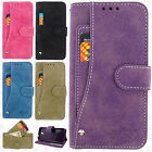 HTC Desire 520 Leather 2 Premium Slide Out Pocket Wallet Cover +Screen Protector