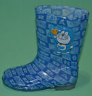 NEW Boys Doraemon Ding Dong Gumboots Rain Boots Size UK 7, 7.5, 8, 9, 10, 10.5