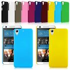 Thin Hard Rubberized Plastic Matte Fitted Case Cover For HTC Desire 626 626S