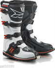 NEW AXO MOTOCROSS ENDURO TRAIL BOOTS WHITE KX CR YZ RM SX EXCF XCF DRZ XR CRF XT