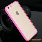 CLEAR Transparent Hard Back Soft Gel Bumper Case Cover For iPhone 4 5 6 S 7 Plus