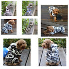 New Small Medium Dog Fashion Winter Coat Snowflake Puppy Warm Hoodie Pet Clothes