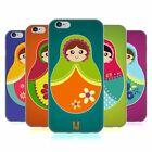 HEAD CASE DESIGNS MATRJOSCHKAS SOFT GEL HÜLLE FÜR APPLE iPHONE HANDYS