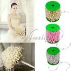5m/10m/60m Fishing Line Artificial ABS Pearl Beads Chain Garland Wedding Decor