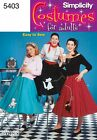 Simplicity Ladies Easy Sewing Pattern 5403 Poodle Circle Skirts (Simplicity-5...