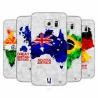 HEAD CASE DESIGNS GEOMETRIC MAPS HARD BACK CASE FOR SAMSUNG PHONES 1