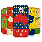 HEAD CASE DESIGNS PRINTED COUNTRY MAPS HARD BACK CASE FOR SAMSUNG PHONES 1