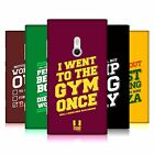 HEAD CASE DESIGNS FUNNY WORKOUT STATEMENTS HARD BACK CASE FOR NOKIA PHONES 2