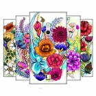 HEAD CASE DESIGNS WATERCOLOURED FLOWERS HARD BACK CASE FOR NOKIA PHONES 2