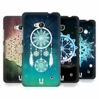 HEAD CASE DESIGNS SNOWFLAKES HARD BACK CASE FOR NOKIA PHONES 1