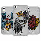 HEAD CASE DESIGNS TATTOO WINGS HARD BACK CASE FOR LG PHONES 2