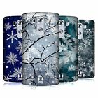 HEAD CASE DESIGNS WINTER PRINTS HARD BACK CASE FOR LG PHONES 1