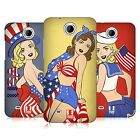 HEAD CASE DESIGNS AMERICA'S SWEETHEART USA HARD BACK CASE FOR HTC PHONES 3