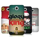 HEAD CASE DESIGNS CHRISTMAS CAROLS HARD BACK CASE FOR HTC PHONES 3