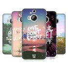 HEAD CASE DESIGNS THOUGHTS TO PONDER HARD BACK CASE FOR HTC PHONES 2