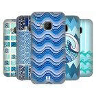 HEAD CASE DESIGNS SEA WAVE PATTERNS HARD BACK CASE FOR HTC PHONES 1