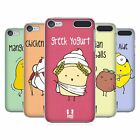 HEAD CASE DESIGNS YUMMY DOODLE HARD BACK CASE FOR APPLE iPOD TOUCH MP3