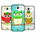 HEAD CASE DESIGNS FRUITOWLICIOUS HARD BACK CASE FOR SAMSUNG PHONES 6