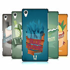 HEAD CASE DESIGNS MIX DRINKS-NEW HARD BACK CASE FOR SONY PHONES 2