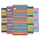 HEAD CASE DESIGNS STRIPES OF LACES HARD BACK CASE FOR SONY PHONES 2